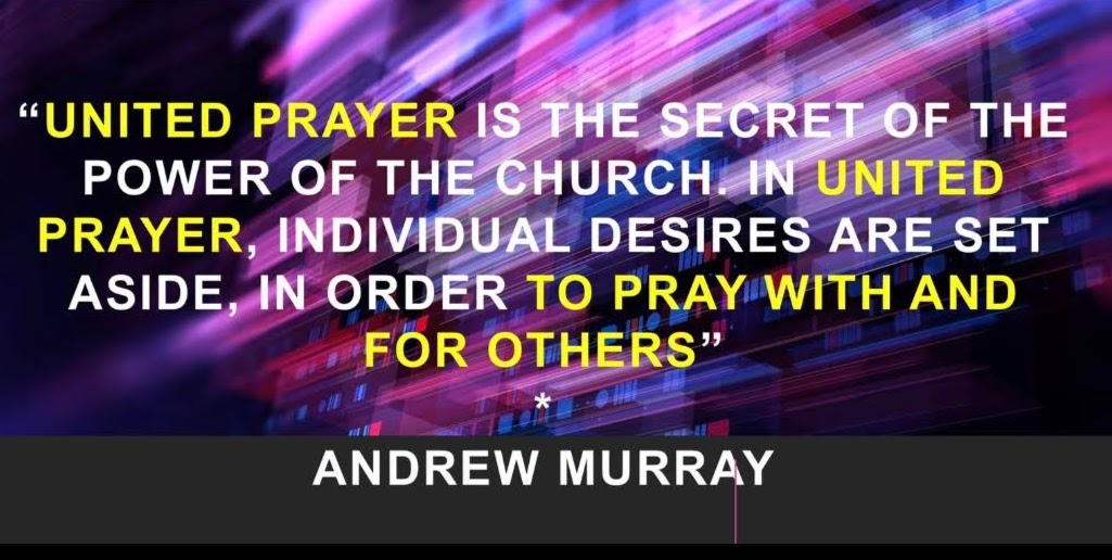 Quote about prayer from Andrew Murray